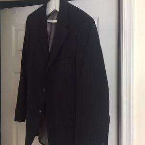 Other - Full black pinstripe suit